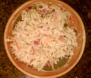 Coleslaw Wars- Coleslaw in a bowl