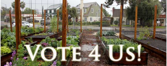 The Monterey Road Eco-Community Garden in Glendale