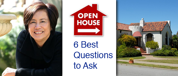 The Six Best Questions to Ask At Open House