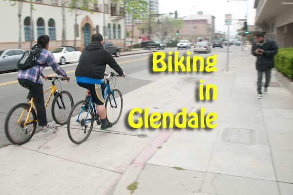 Biking in Glendale