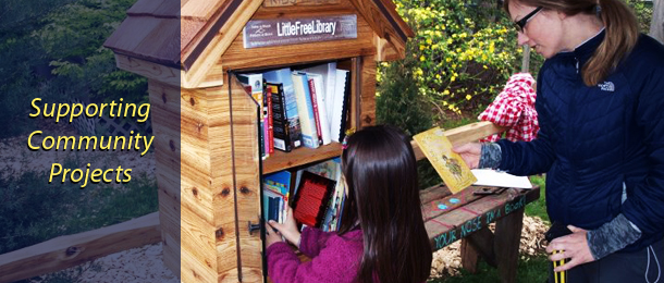 Little Free Library in Glendale!