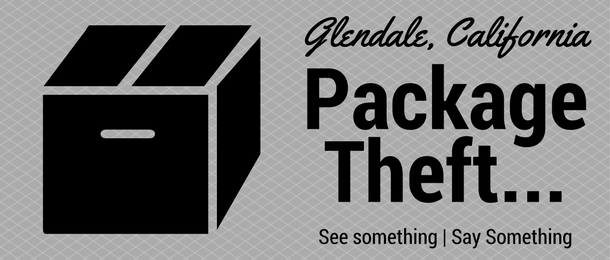 package theft Glendale