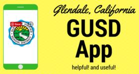 gusd app graphic